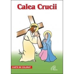 Calea Crucii. Carte de colorat